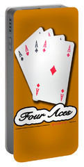 Poker Of Aces - Four Aces Portable Battery Charger