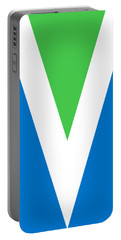 Official Vegan Flag Portable Battery Charger