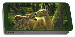 Whitetail Deer - First Spring Portable Battery Charger