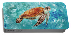 Turtle Swimming Portable Battery Charger