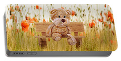 Cuddly In The Garden Portable Battery Charger