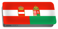 Merchant Ensign Of Austria-hungary 1869-1918 Portable Battery Charger