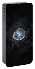 Drop Of Ice Rain Portable Battery Charger