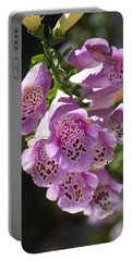 Foxglove Flowering Delight Portable Battery Charger