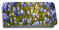 Agapanthus In Fireworks Portable Battery Charger