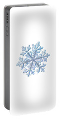 Real Snowflake - Hyperion White Portable Battery Charger