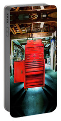 Mechanics Toolbox Cabinet Stack In Garage Shop Portable Battery Charger