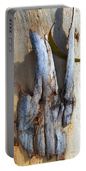 Tones Of Eucalyptus Bark Portable Battery Charger