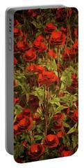 La Sevilliana Roses Portable Battery Charger
