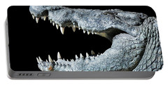 Nile Croco-smile Portable Battery Charger