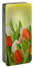Colors Of Spring Portable Battery Charger