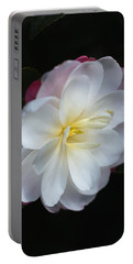 Camellias Lushness Of Winter Portable Battery Charger