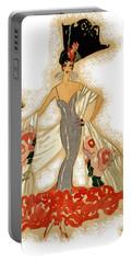 Elegant Woman Portable Battery Charger