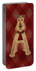A Is  For Airedale Portable Battery Charger