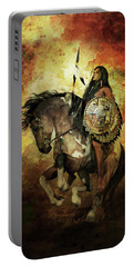 Warrior Portable Battery Charger by Shanina Conway