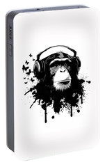 Monkey Business Portable Battery Charger by Nicklas Gustafsson