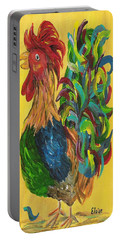 Plucky Rooster  Portable Battery Charger