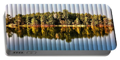 When Nature Reflects - The Slat Collection Portable Battery Charger by Bill Kesler