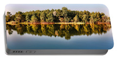 When Nature Reflects Portable Battery Charger by Bill Kesler