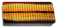 Magnificent Sunrise Swim Portable Battery Charger by Bill Kesler