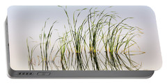 Graceful Grass Portable Battery Charger by Bill Kesler