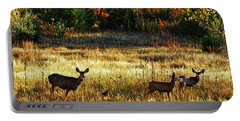 Deer Autumn Portable Battery Charger