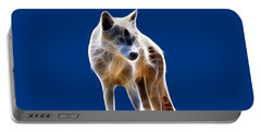 Glowing Wolf Portable Battery Charger