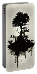 Last Tree Standing Portable Battery Charger by Nicklas Gustafsson