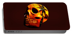 Glowing Skull Portable Battery Charger