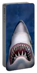 Jaws Great White Shark Art Portable Battery Charger