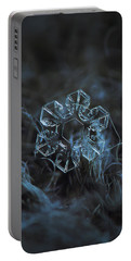 Snowflake Photo - The Core Portable Battery Charger by Alexey Kljatov