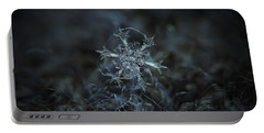 Snowflake Photo - Starlight Portable Battery Charger by Alexey Kljatov