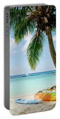 Portable Battery Charger featuring the photograph Aruban Oasis by Monique Faella