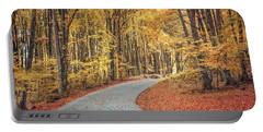 As Autumn Falls Portable Battery Charger