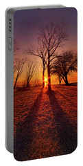 Portable Battery Charger featuring the photograph As Sure As The Sun Will Rise by Phil Koch