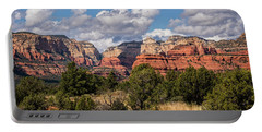 Portable Battery Charger featuring the photograph As The Clouds Pass On By In Sedona  by Saija Lehtonen