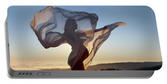 As The Wind Carries The Flower Of A New Life Portable Battery Charger