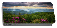 Asheville Nc Blue Ridge Parkway Scenic Landscape Photography Portable Battery Charger