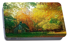 Portable Battery Charger featuring the photograph Ashridge Autumn by Anne Kotan