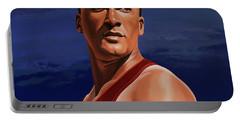 Ashton Eaton Painting Portable Battery Charger