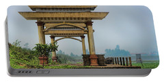 Asian Architecture I Portable Battery Charger by Chuck Kuhn