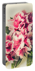 Asian Floral Rhododendron Flowers Portable Battery Charger