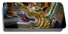 Asian Temple Dragon Portable Battery Charger by Adrian Evans