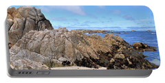 Asilomar State Marine Reserve Portable Battery Charger by Gina Savage
