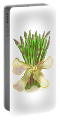 Asparagus Bouquet Portable Battery Charger