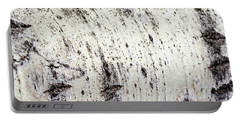 Portable Battery Charger featuring the photograph Aspen Tree Bark by Christina Rollo