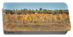 Aspens In Autumn Portable Battery Charger