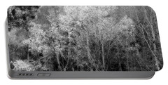 Aspens In Morning Light  For Traci Portable Battery Charger