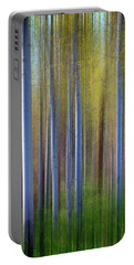 Aspens In Springtime Portable Battery Charger