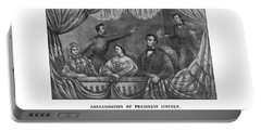 Assassination Of President Lincoln Portable Battery Charger